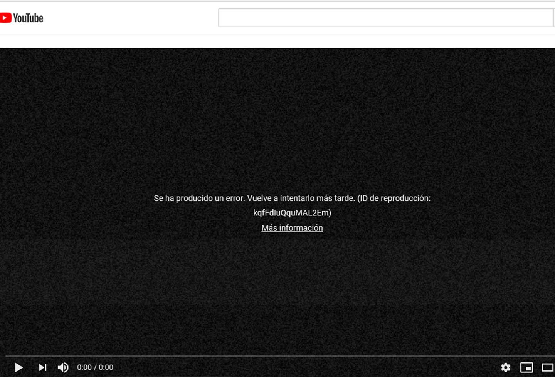 Captura YouTube