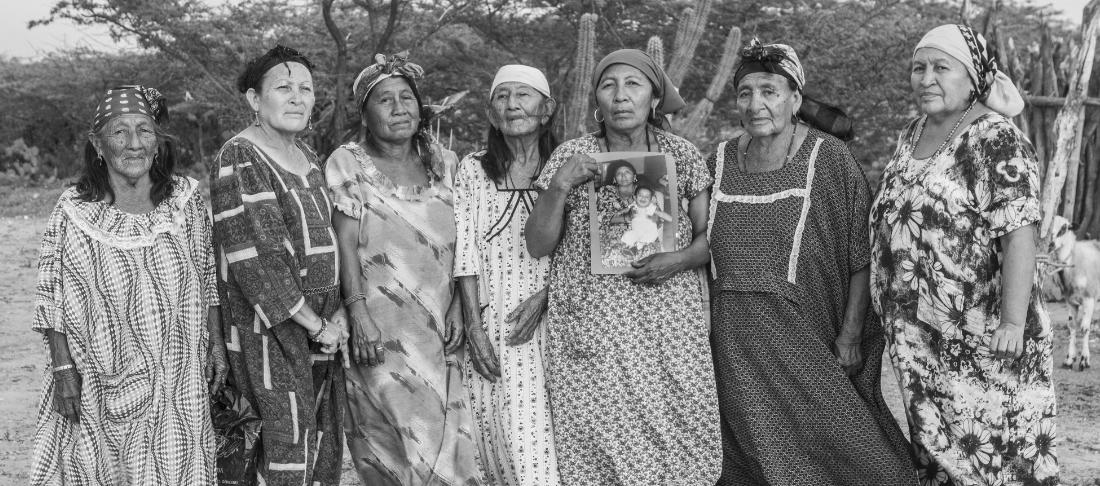 Exposición de fotografías sobre conflicto de Jesús Abad Colorado