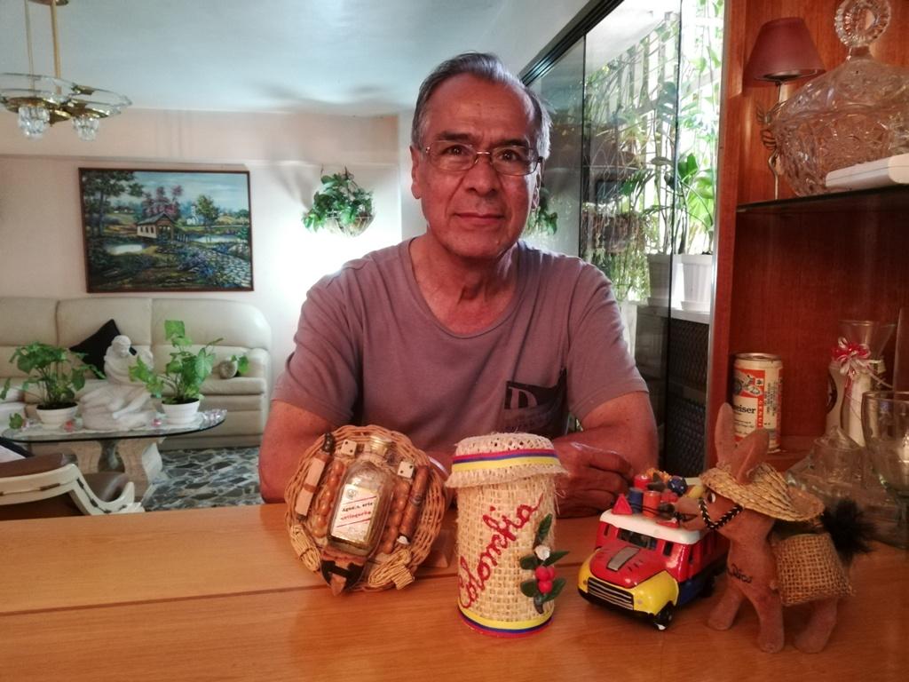 José Darío Ruiz, colombiano que emigró a Venezuela