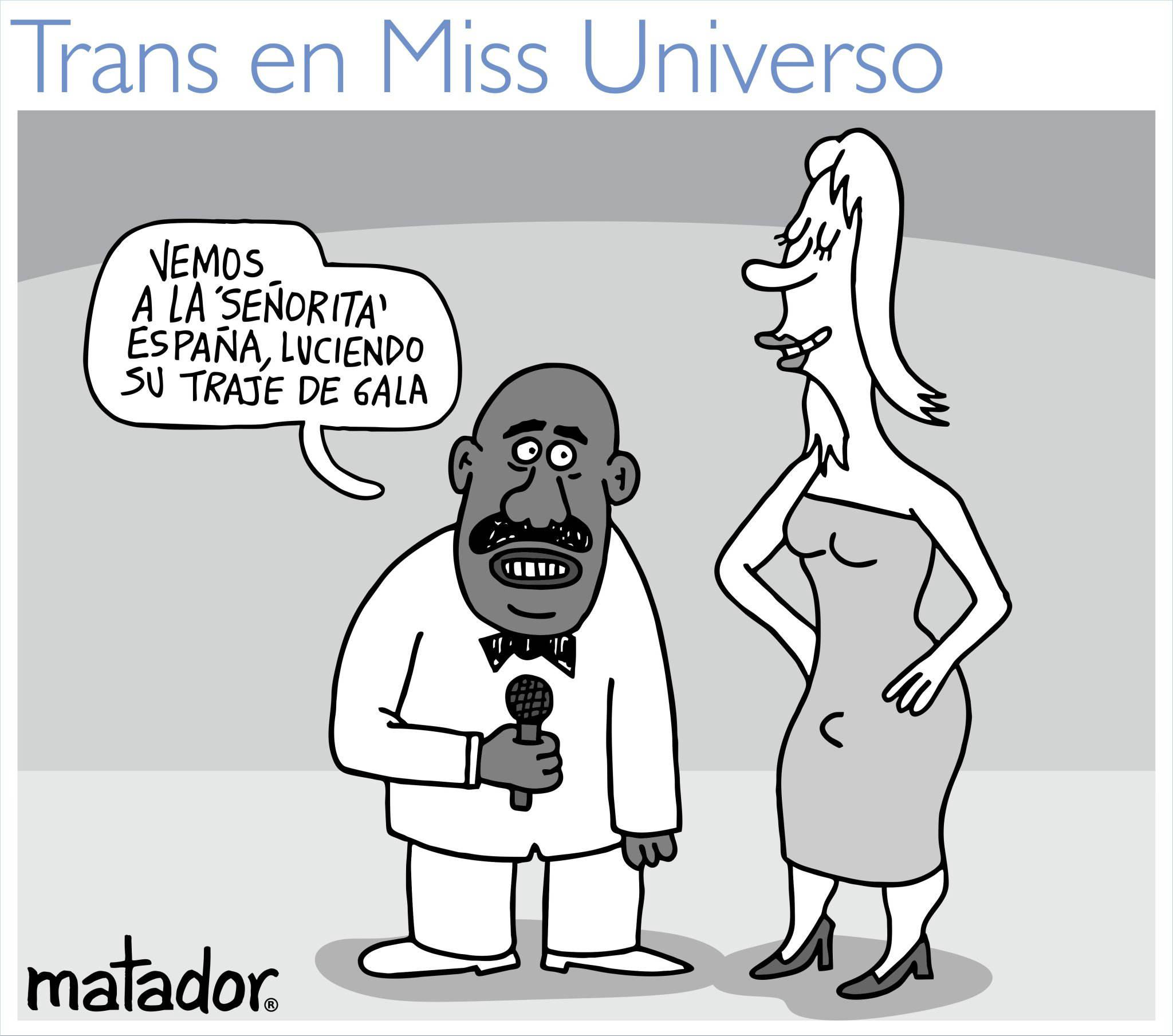 Matador y su polémica caricatura sobre Miss España