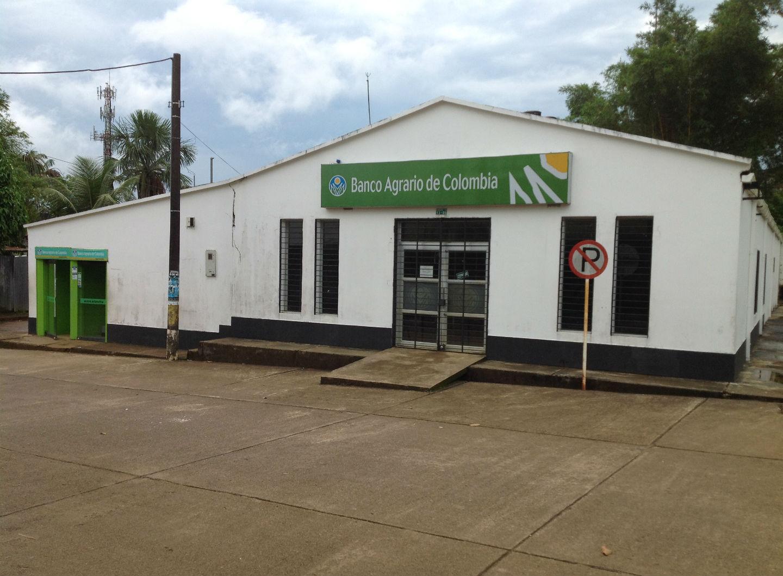 La sede del Banco Agrario en Mitú se ve así 20 años después de la Toma.