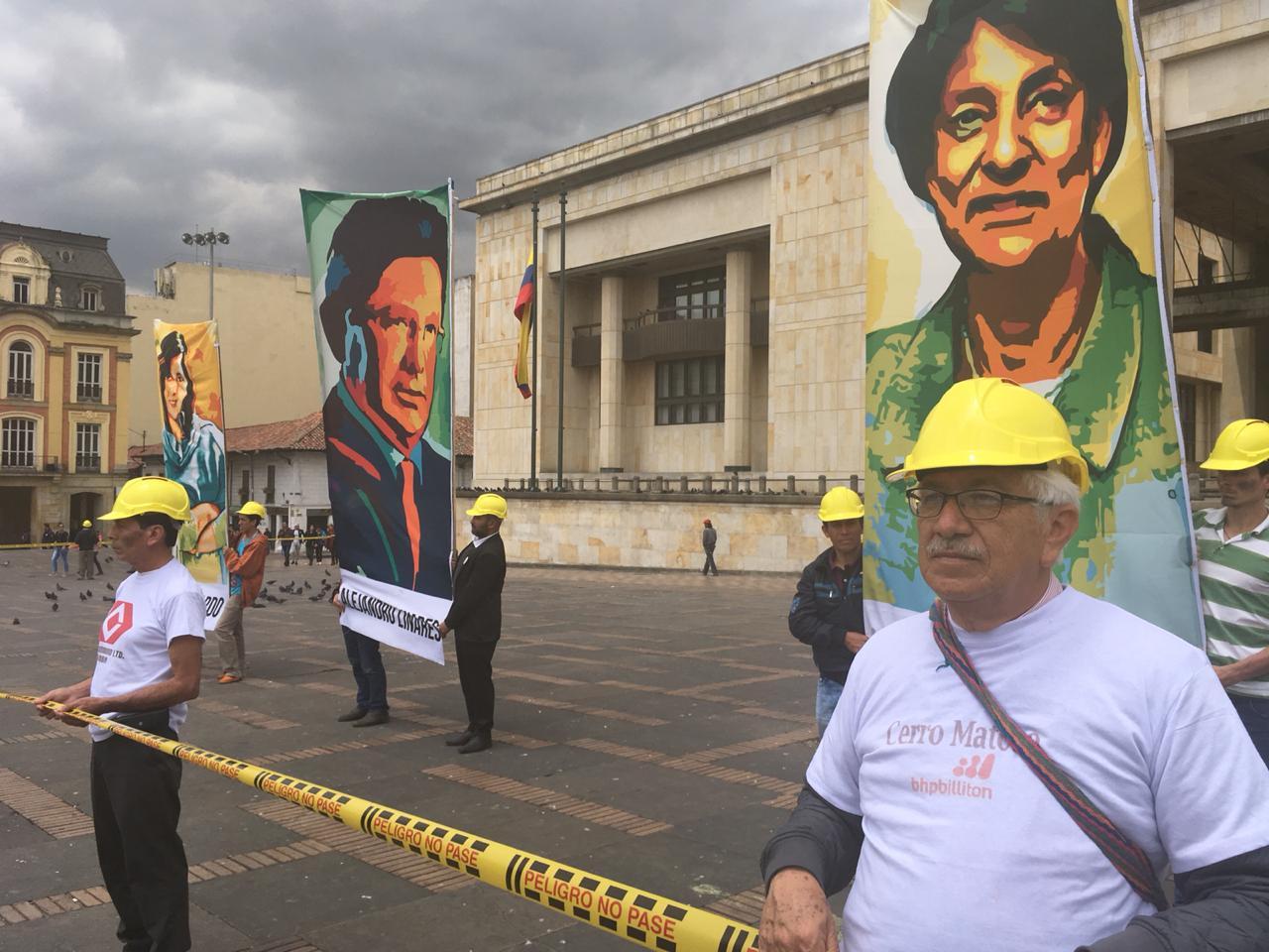 Palacio de Justicia en Bogotá.