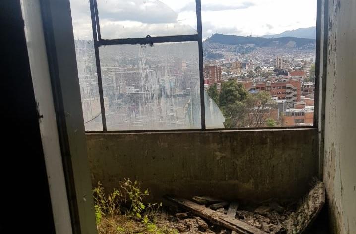 En abandono permanece la actual estructura del hospital San Juan de Dios de Bogotá