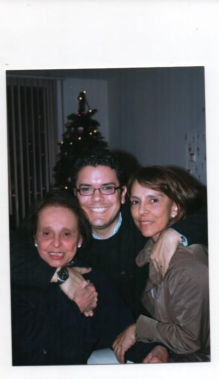 Iván Duque y su abuela materna