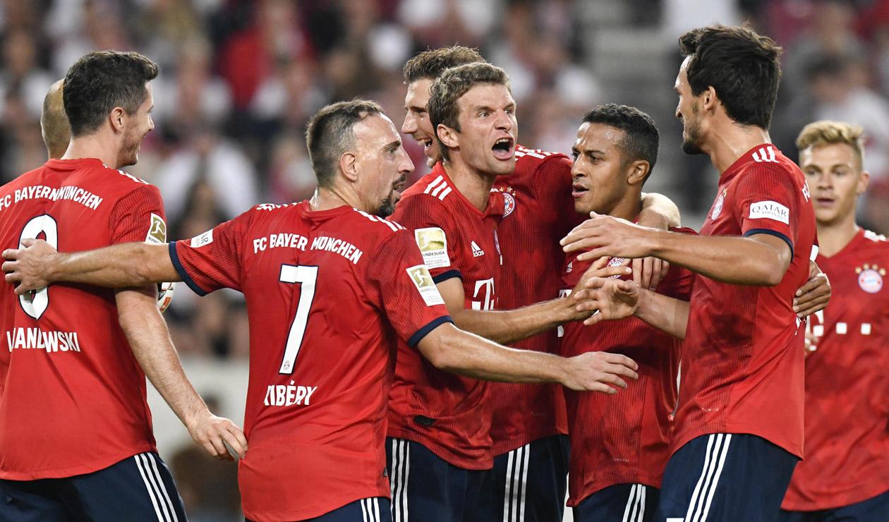 Bayern Munich se encuentra en sumido en una crisis en la Bundesliga