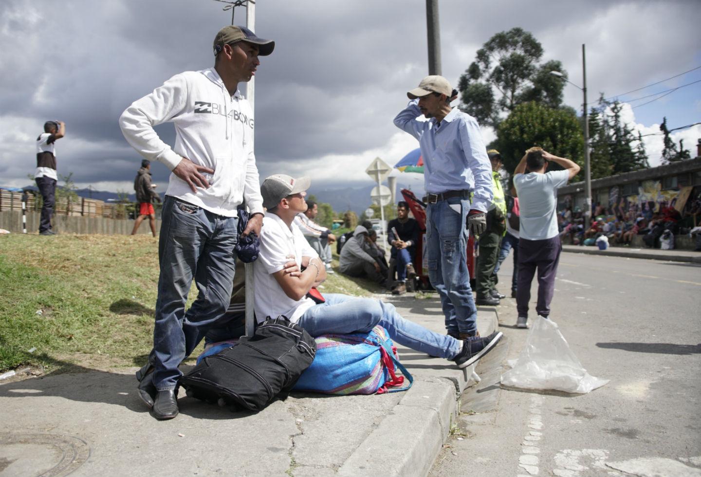 La crisis migratoria en Colombia cada día apunta a crecer por las difíciles condiciones sociales en el vecino país.