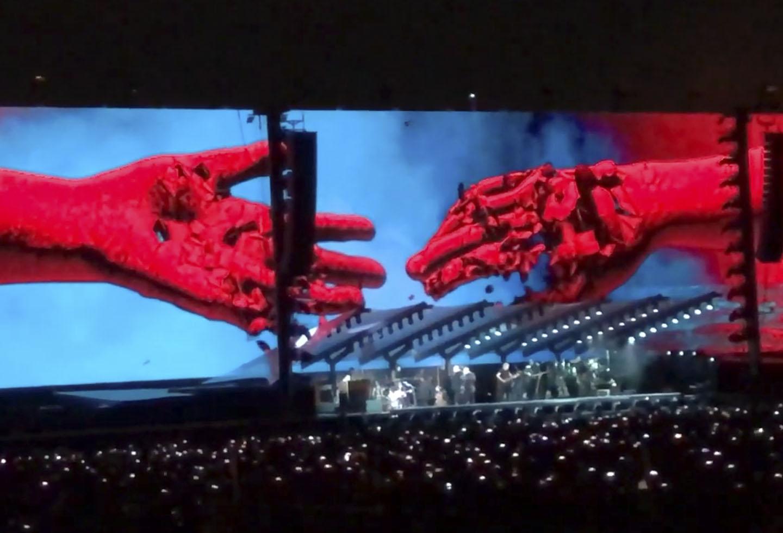 Concierto de Roger Waters en Bogotá en el estadio El Campín de Bogotá (21/11/18)