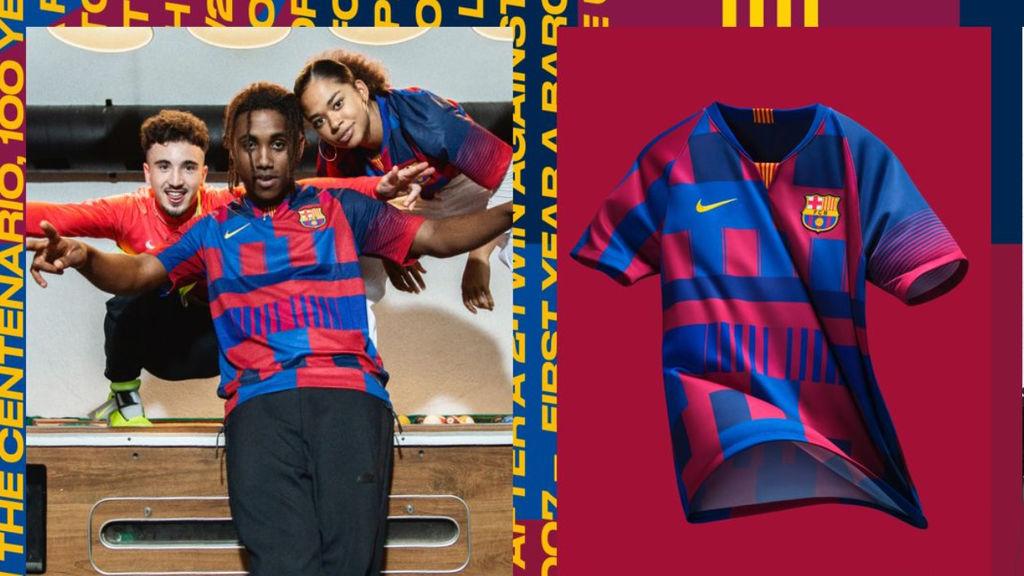 Nike conmemora 20 años vistiendo al club azulgrana con esta camiseta