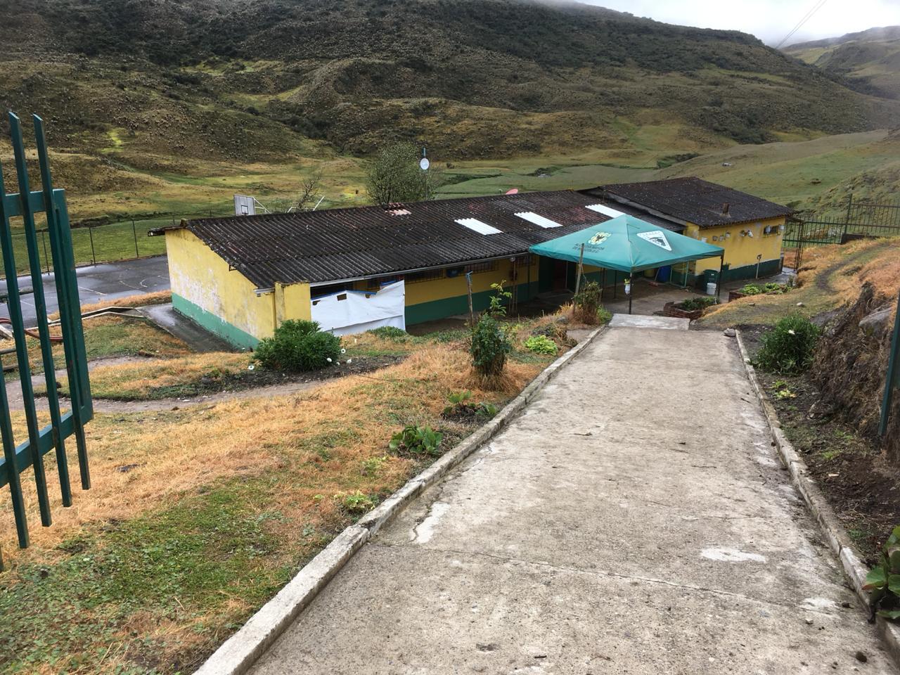 Colegio en la localidad de Sumapaz, en Bogotá
