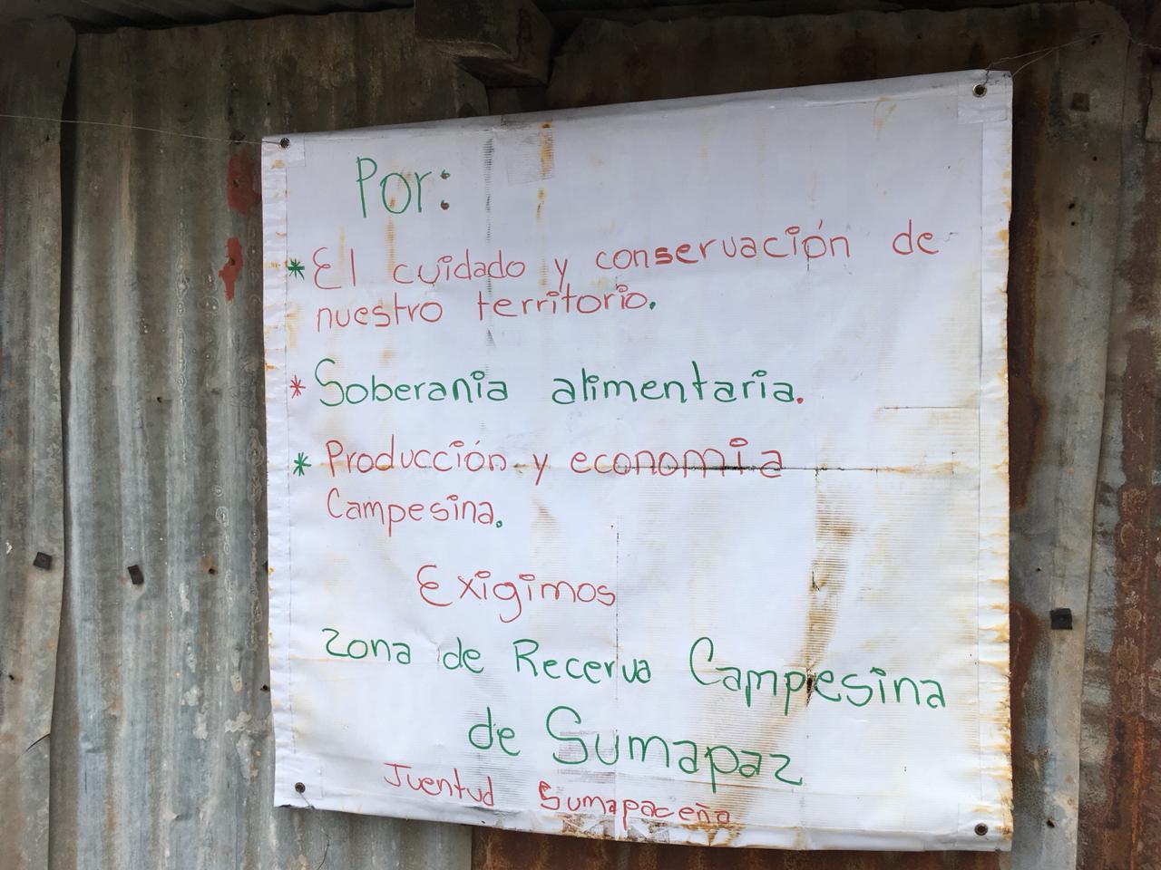 Las exigencias de los habitantes de Sumapaz, en Bogotá