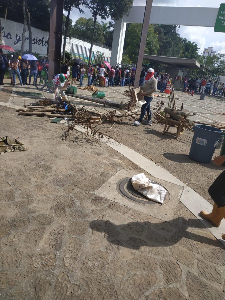Disturbios en Bucaramanga