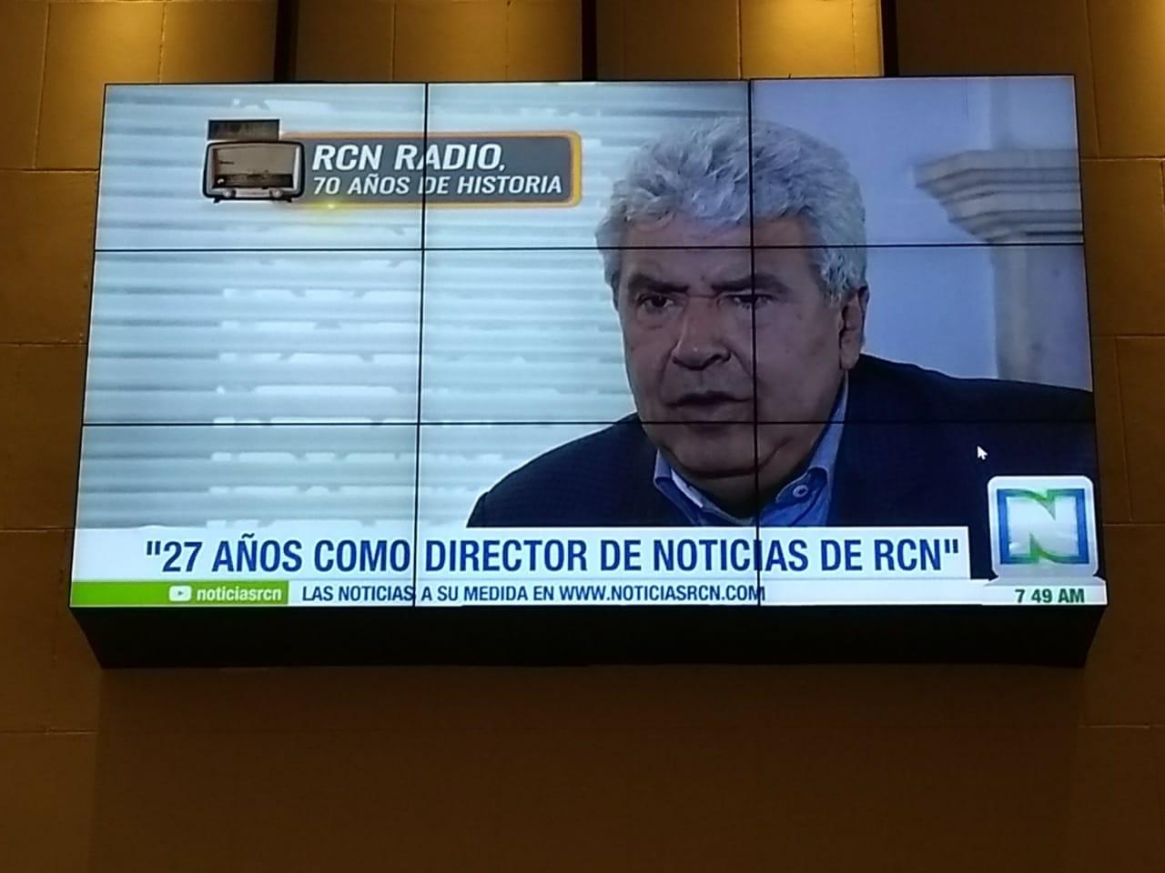 Video institucional proyectado en el Concejo de Medellín.