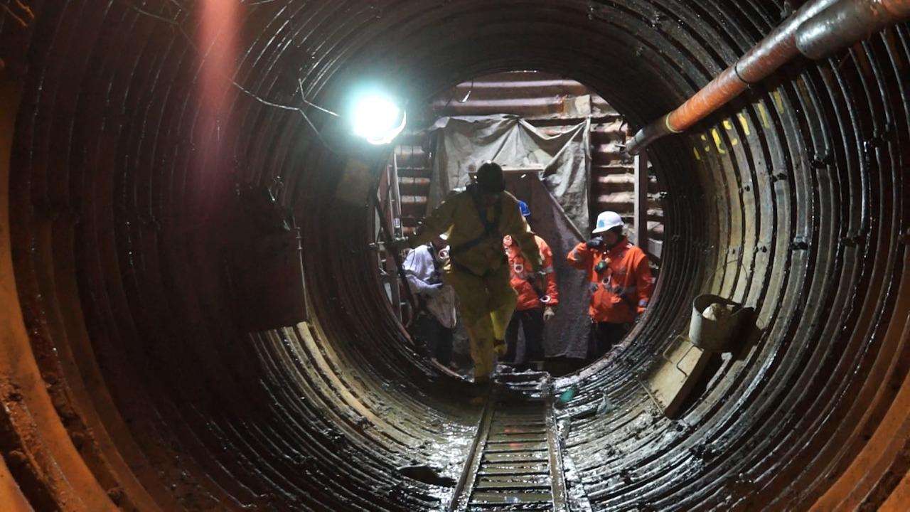Túnel recolector de aguas lluvias