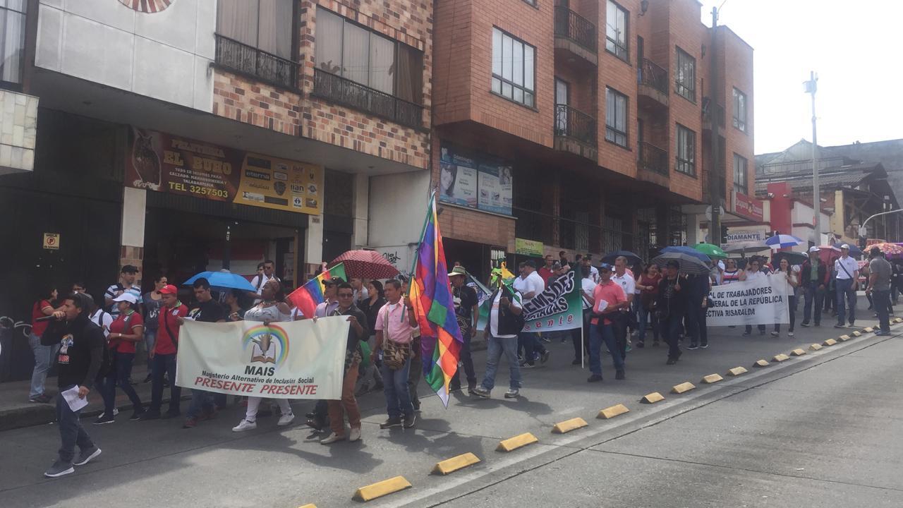 Protestas en Pereira.