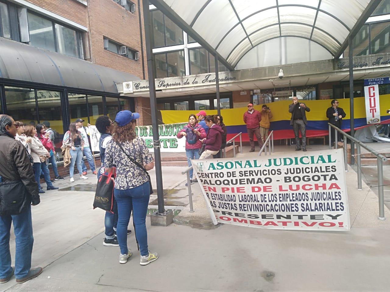 Resultado de imagen para paro judicial en colombia