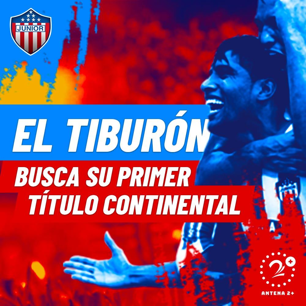 Junior finalista Copa Sudamericana