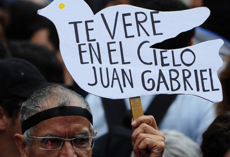 Despedida a Juan Gabriel en el Palacio de Bellas Artes en México (2016)