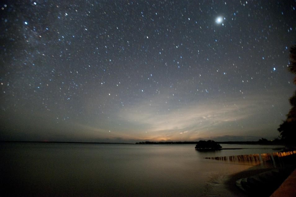 Una playa y las estrellas, otro plan obligatorio