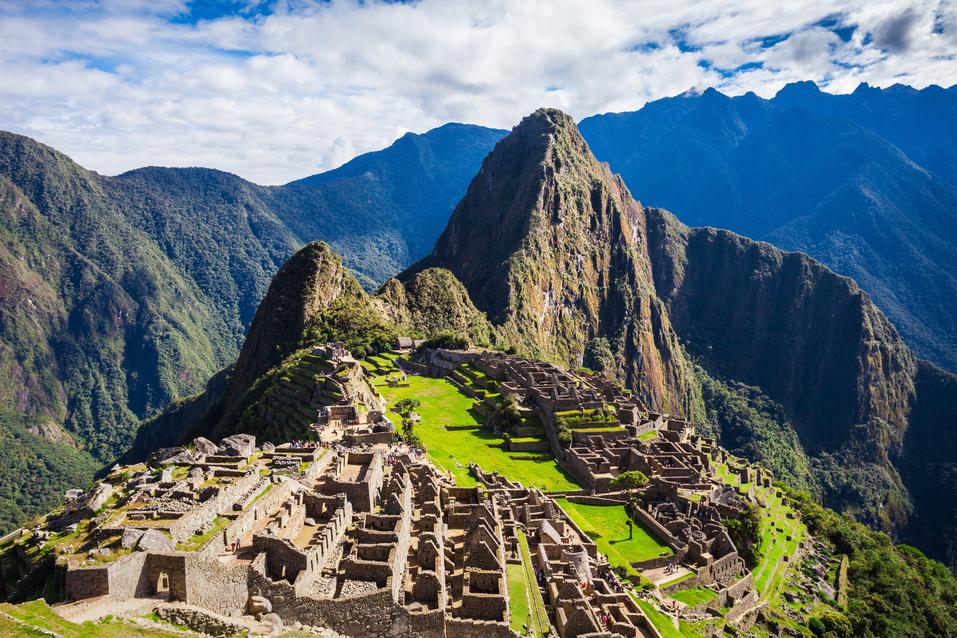 Machu Pichu, en Perú, puede ser un gran destino de fin de semana