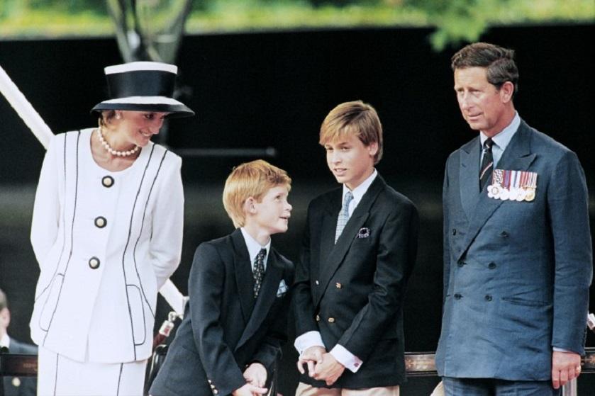 Princesa Diana y sus hijos