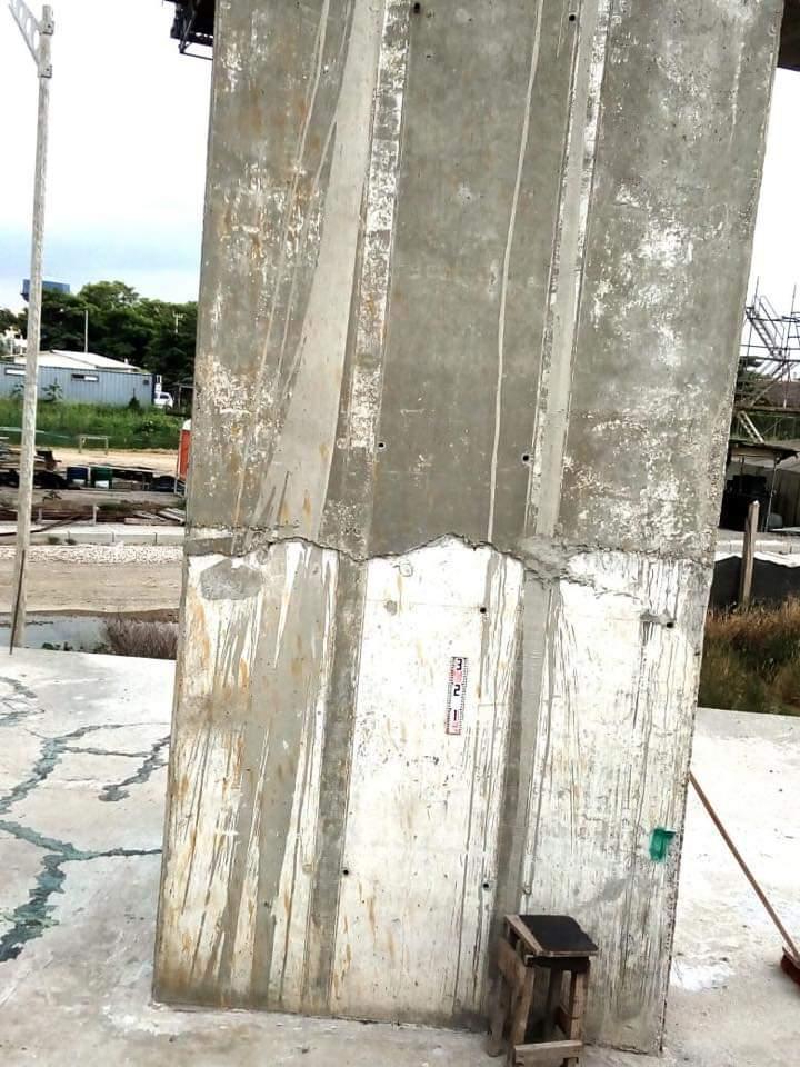 Denuncias por grietas en las obras del Nuevo Puente Pumarejo