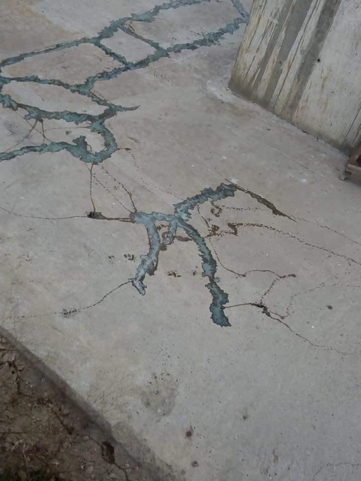 Fisuras y grietas en los pilotes del nuevo puente Pumarejo