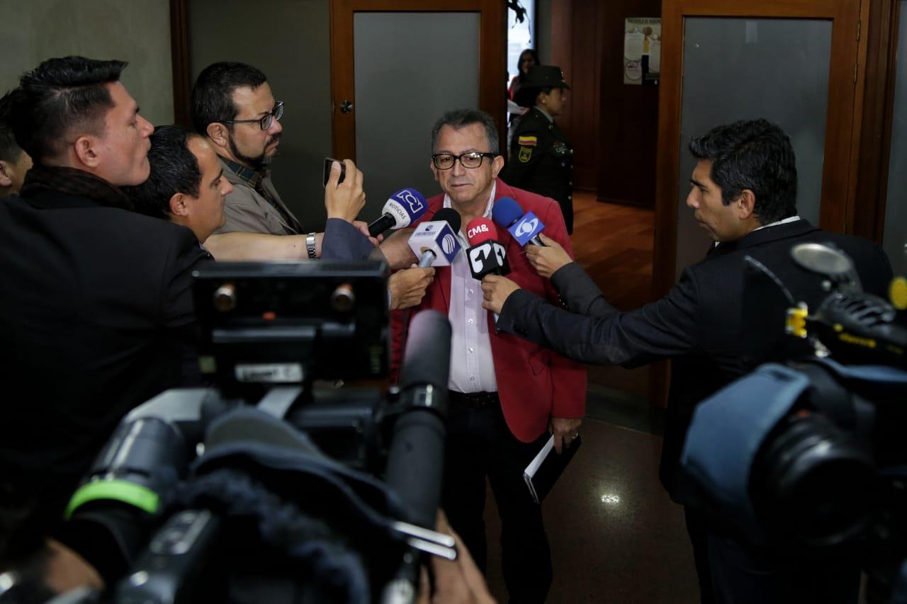 Daniel Prado, abogado de Gustavo Petro, en la Corte Suprema