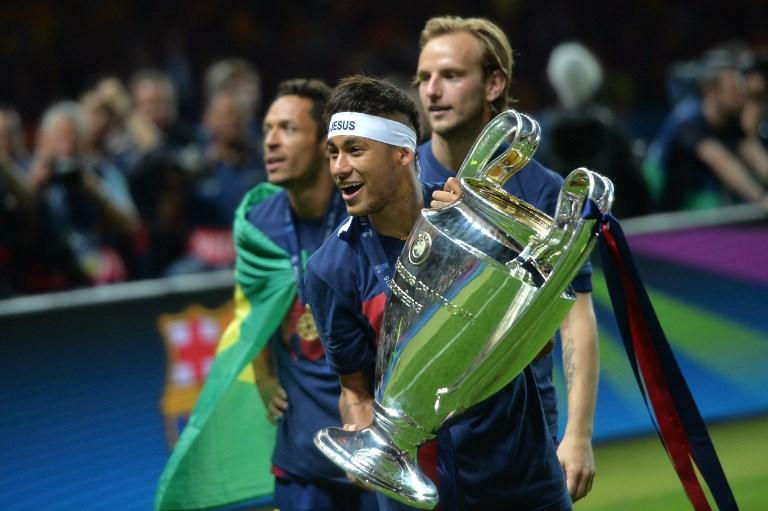 Neymar logró ganar la Champions con el Barcelona al batir a Juventus en 2015, en el Estadio Olímpico de Berlín