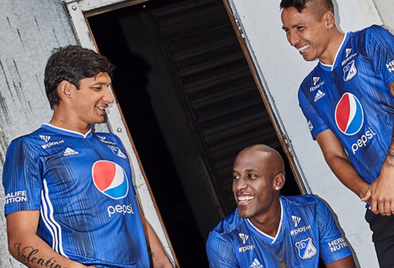 Nueva Camiseta De Colombia 2019 Detail: Millonarios Presentó Su Nueva Camiseta Para El 2019
