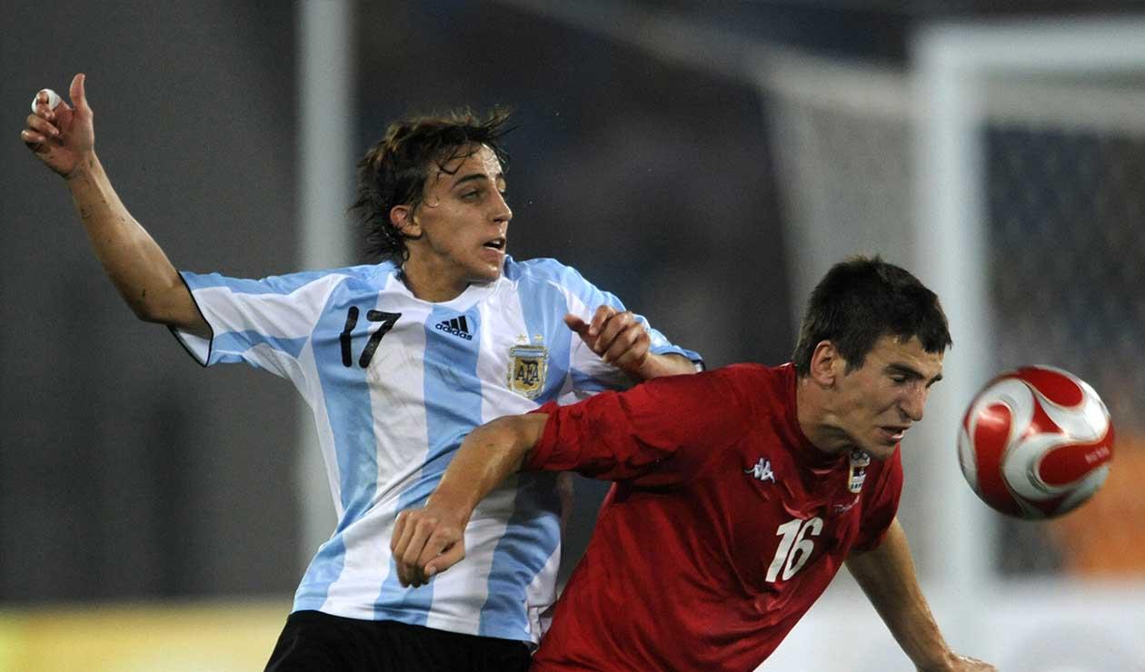 Diego Buonanotte en la Selección Argentina, año 2008