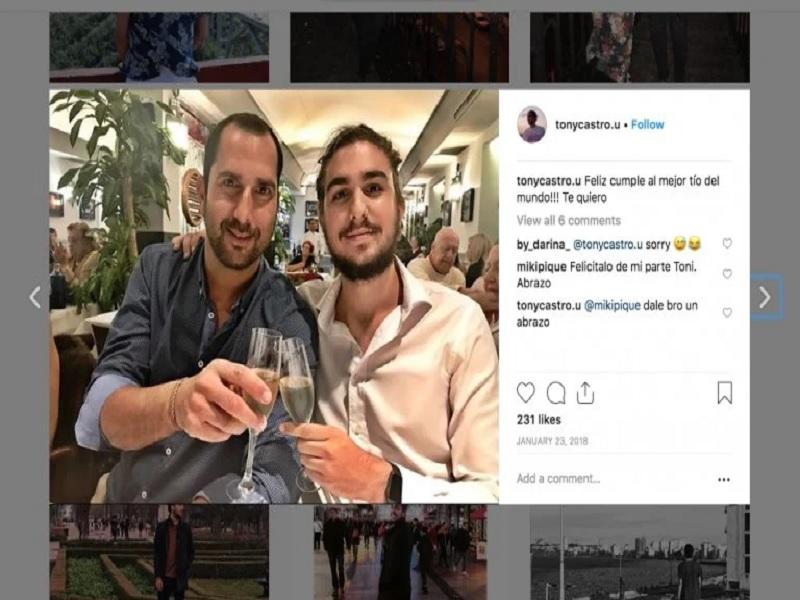 Instagram Tony Castro