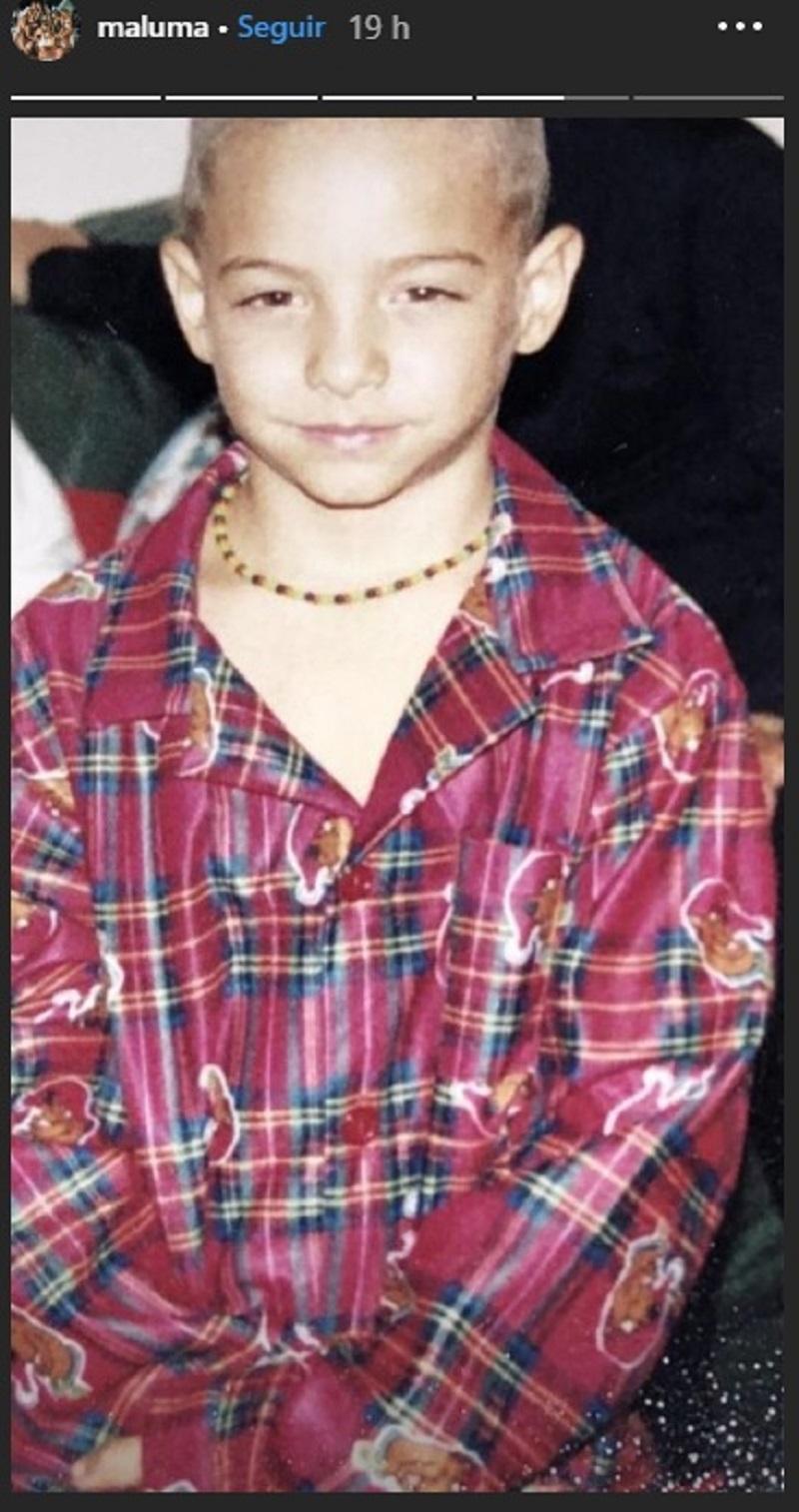 Niñez de Maluma