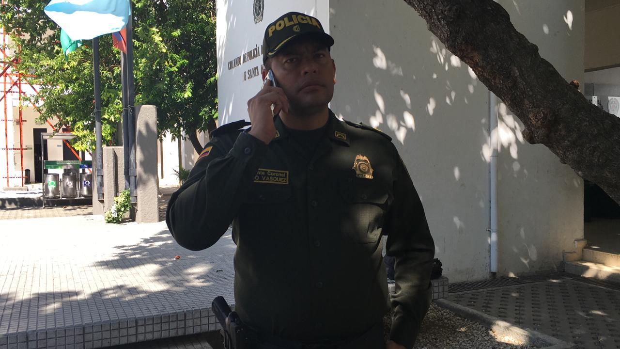 Subcomandante de la Policía Metropolitana de Santa Marta