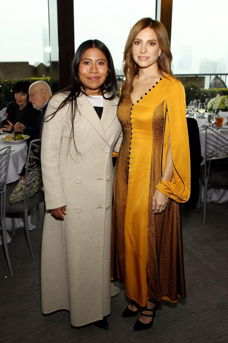Yalitza Aparicio y Marina de Tavira, protagonistas de la cinta Roma