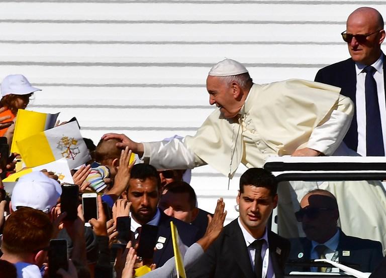 Papa Francisco en Arabia Saudita