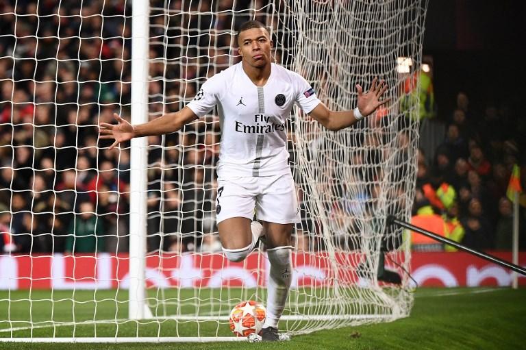 Kylian Mbappé, delantero francés en la Champions