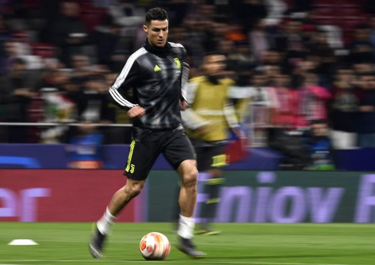 Cristiano Ronaldo, delantero portugués en la Champions