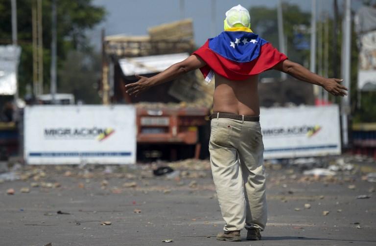 Disturbios en la zona fronteriza entre Colombia y Venezuela, en Norte de Santander
