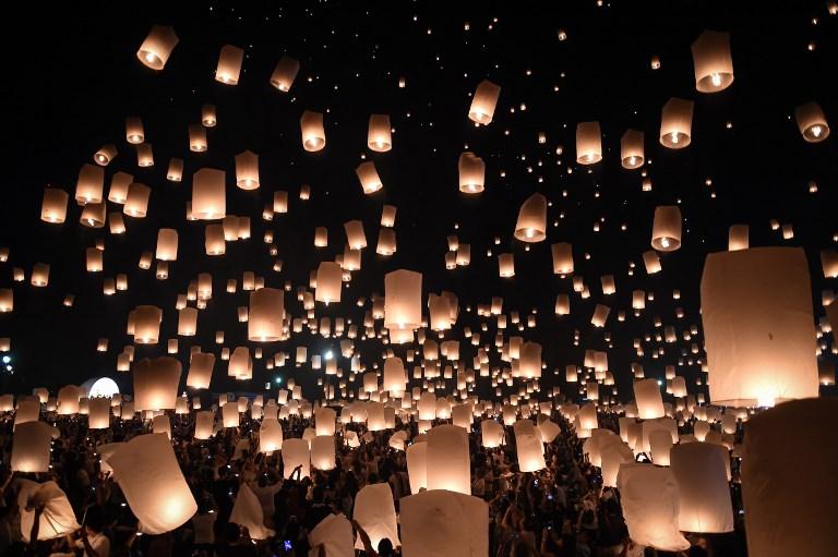 Festival Loi Krathong, Chiang Mai