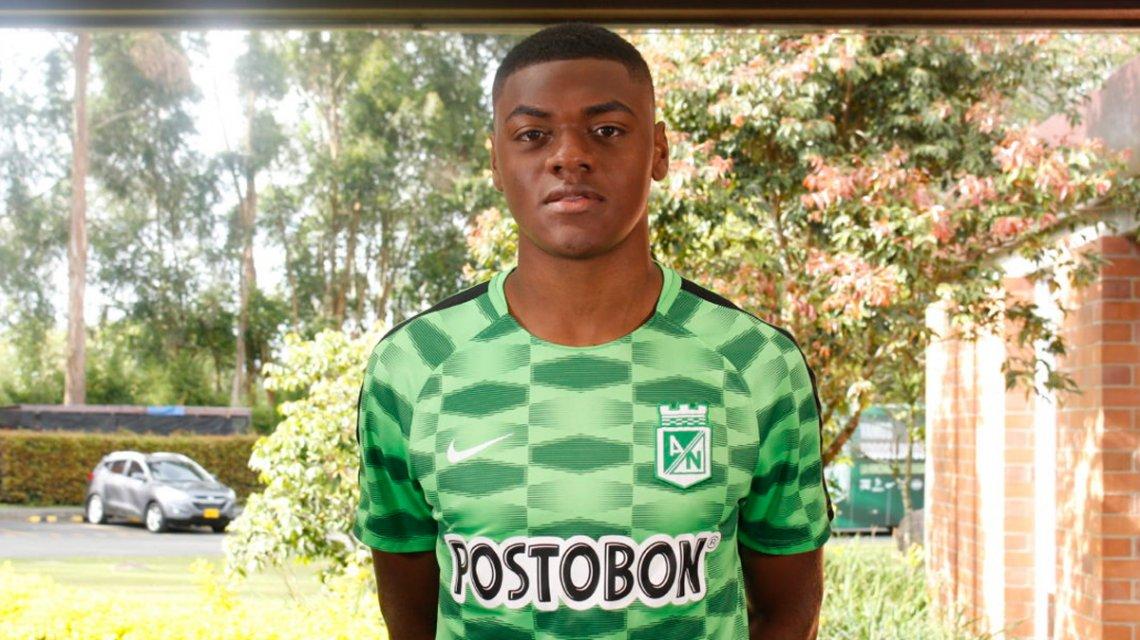 Efmamjjasond Gonzales, juvenil de Atlético Nacional