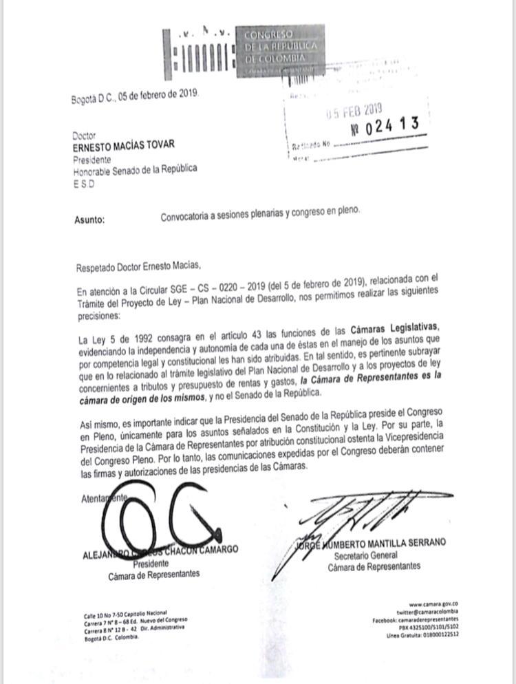 Carta Alejandro Chacón