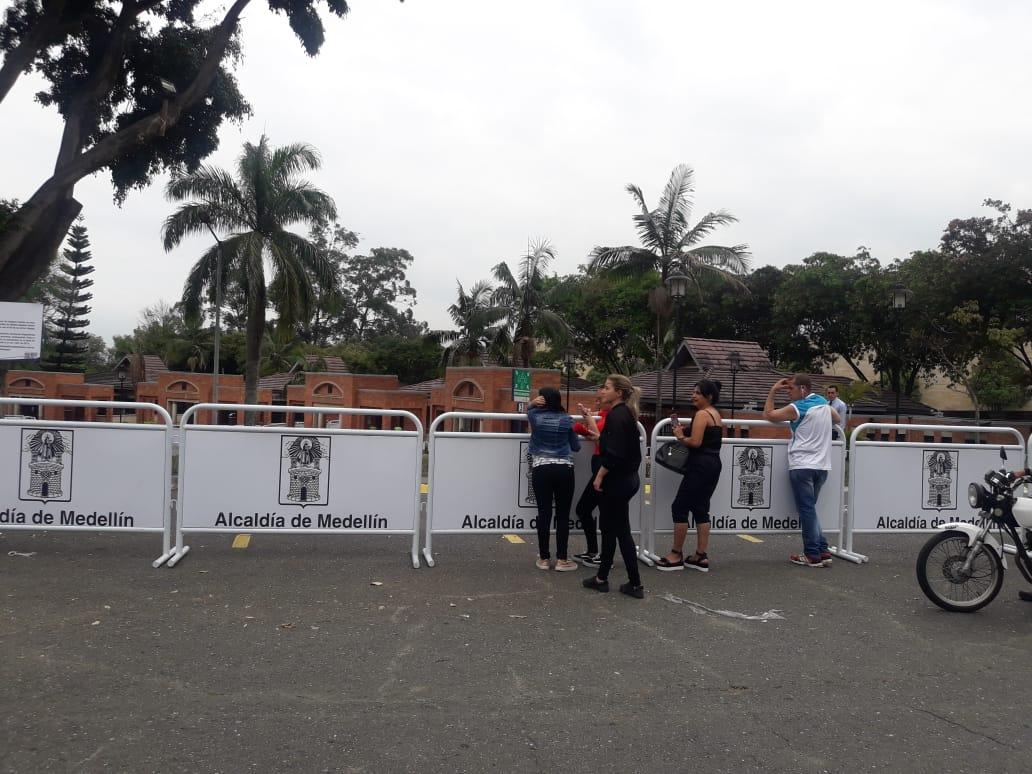 Velación de Legarda en Medellín.