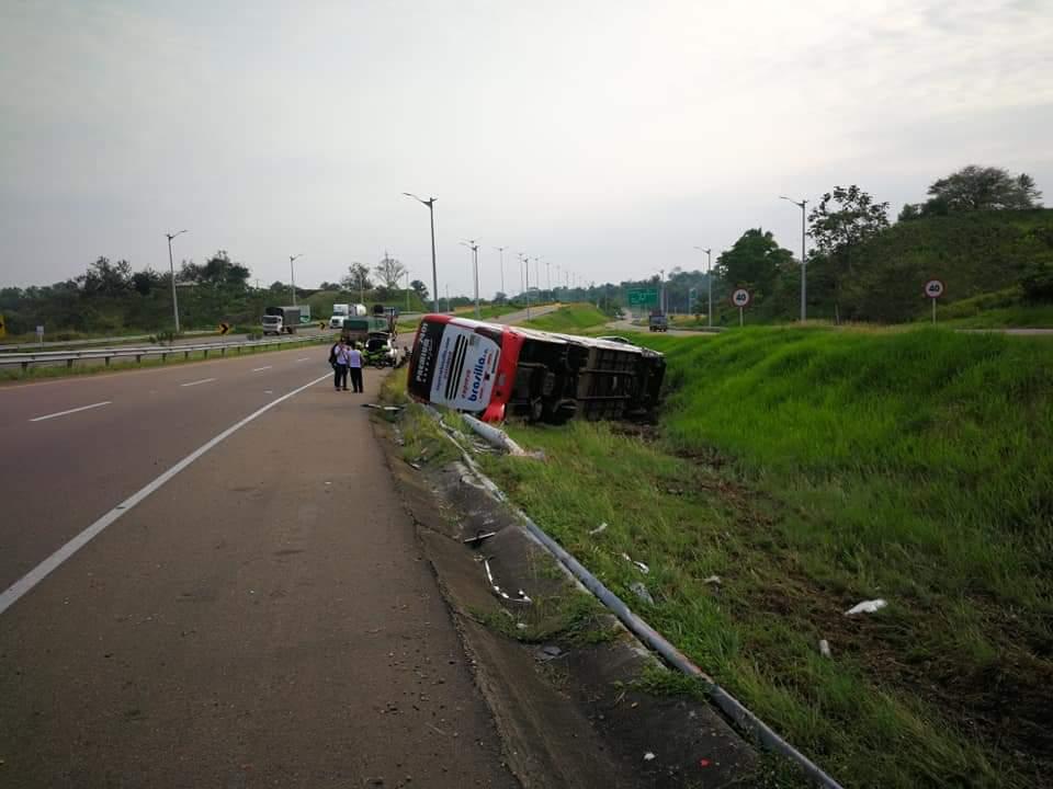 Tras el accidente en Puerto Boyacá, 11 personas resultaron lesionadas