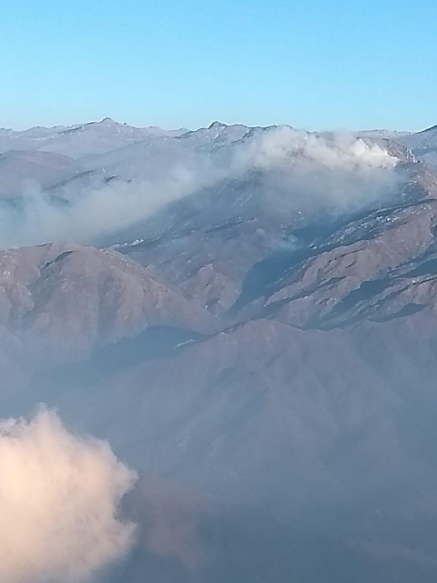 Vista aérea de la Sierra Nevada de Santa Marta