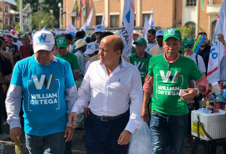 William Ortega, candidato a alcaldía de Bello