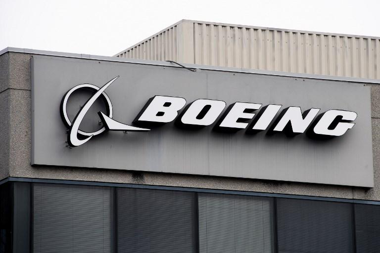 Fachada de una sede de Boeing