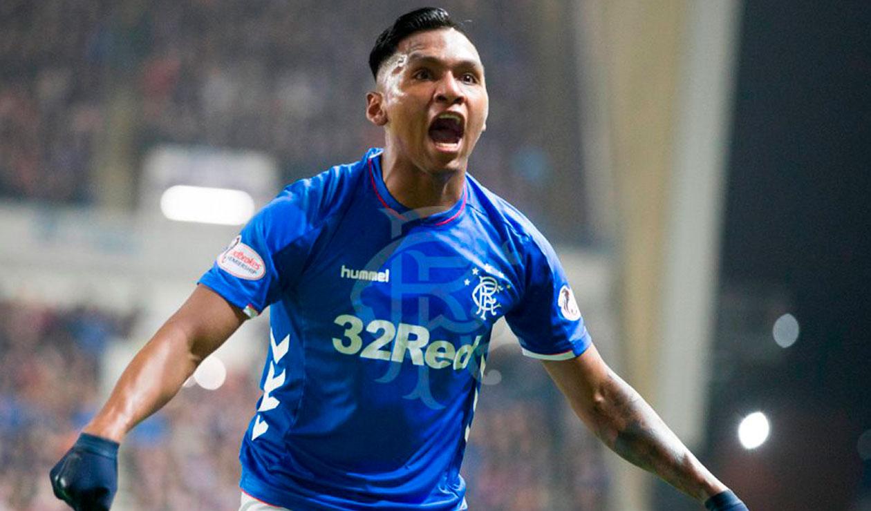 Alfredo Morelos marcó doblete para Rangers en la Europa League | RCN Radio