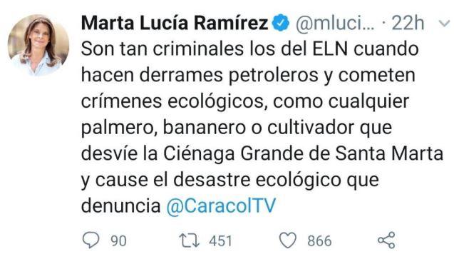 Trino Marta Lucía Ramírez