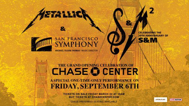 Anuncio del S&M 2: Metallica en vivo con la Sinfónica de San Francisco, de nuevo