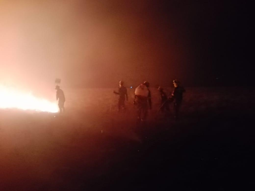 Incendio de enormes proporciones en Orocué (Casanare)